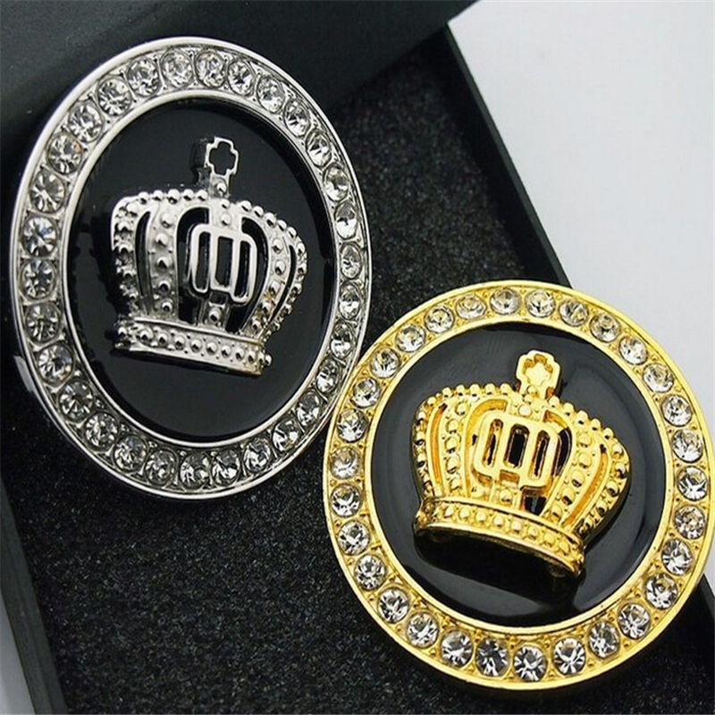 New Luxury Car Vip Emblems Sticker Crown Logo Hood Trunk: Popular Crown Car Decals-Buy Cheap Crown Car Decals Lots
