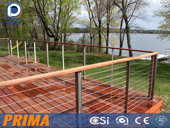 Stainless Steel Balcony Tension Wire Railing Or Cable Wire