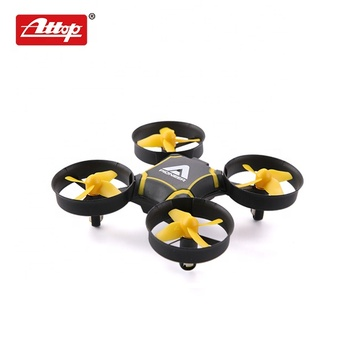 Altitude hold radio control drone super mini quadcopter with LED lighting