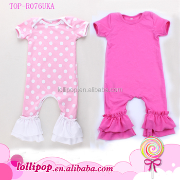 f1347afdf033 Fancy Baby Clothes Newborn Images Baby Girl Romper Boutique Ruffle ...