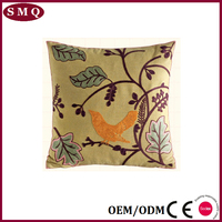 2015 free sample cushion cover hand embroidery design