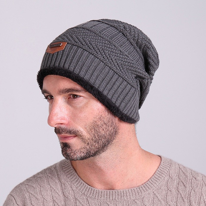 2016 Brand Beanies Knit Men s Winter Hat Caps Skullies Bonnet Winter Hats  For Men Women Beanie f2d28abd21e