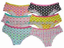 Curvy girl wearing panties