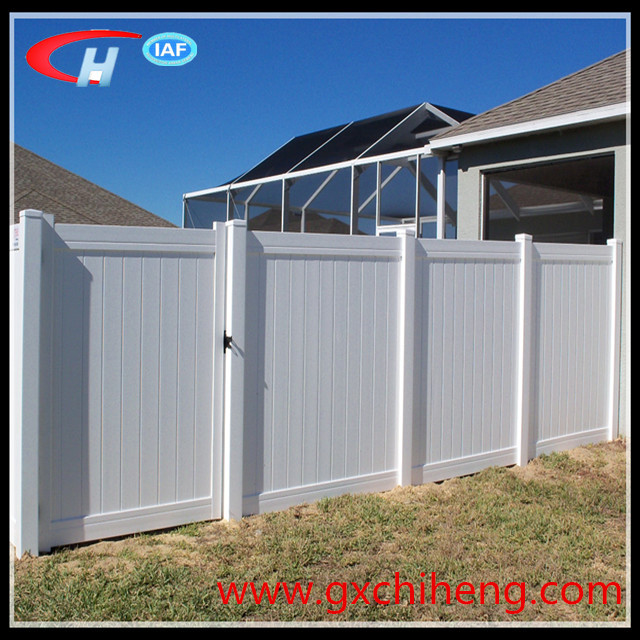 Cheap Wholesale Pvc Privacy Fence Panel Garden Fencing