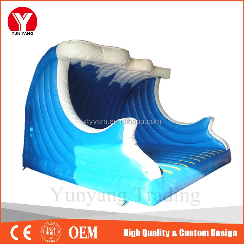 Jumping Castle Bounce,Outdoor Inflatable bounce, Sea Wave Bouncy House for kids