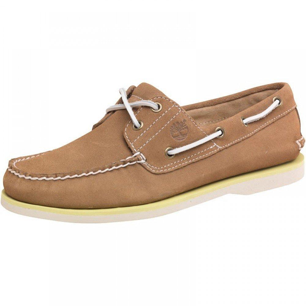 moda na stopach o tani Buy Timberland Mens Classic 2 Eye Boat Shoes Light Brown ...