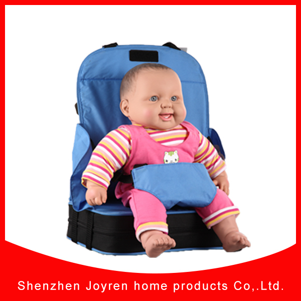 Travel Booster Seat High Chair Highchair With 5 Point Harness