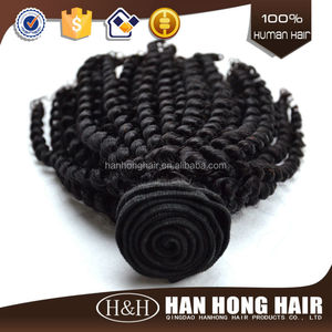 100% Brazilian Hair kinky twist synthetic afro twist braid for hair extension Afro textured Hair