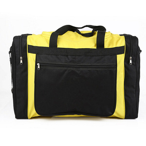 Durable Polyester Travel Duffel Bag Tote Luggage Fitness Sport Small Gym Bag