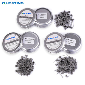 Alien Clapton Coil With Flat Wire, Alien Clapton Coil With