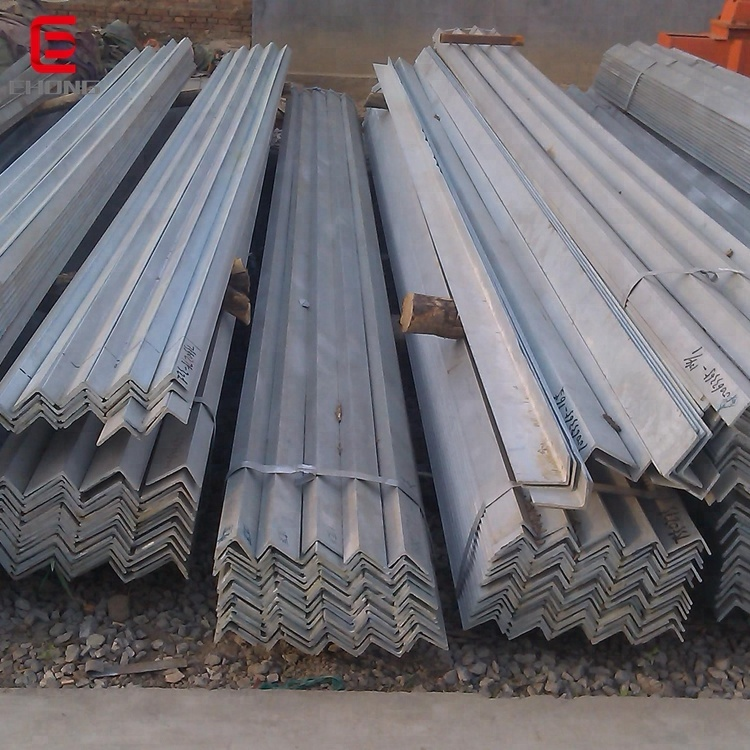 90*90*8mm Used for Construction Angle Steel / Angle Steel Iron