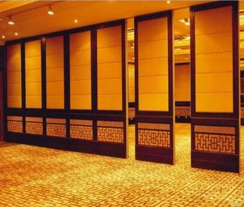Banquet Room Indian Style Room Divider Wooden Acoustic Room Divider