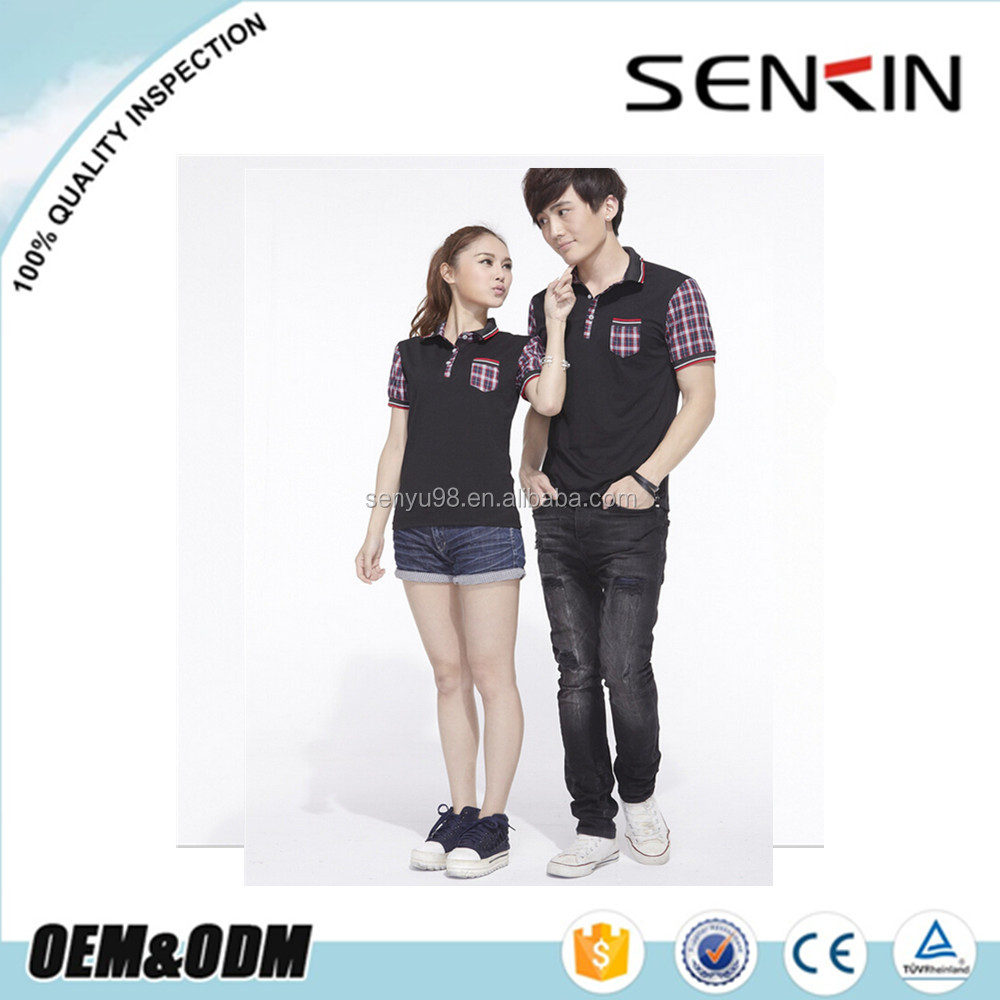 Family Couple T Shirts Design Color Combination Golf Shirts For