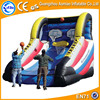 New design inflatable basketball game, popular inflatable football toss game