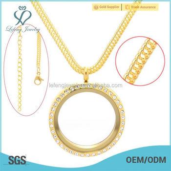 Beautiful memory floating locket pendants gold chain necklace beautiful memory floating locket pendants gold chain necklace aloadofball Images