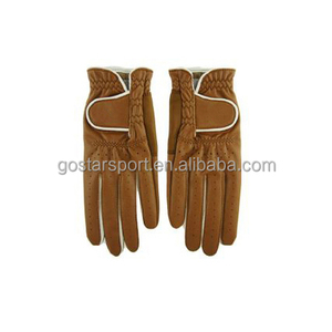 brown color golf glove