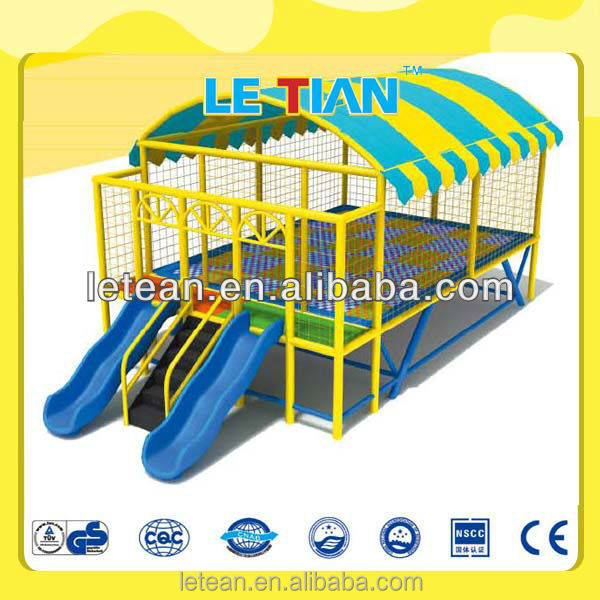 home outdoor indoor bungee jumping trampoline playground equipment (LT-2129A)