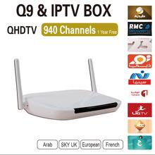 Arabic IPTV Free for one year ,Arabic IPTV Box Android TV