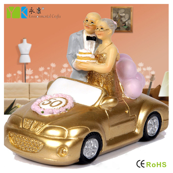 En Gros 50 Annee Cadeaux D Anniversaire De Mariage Resine Vieux Couple Amoureux Figurines Buy Resine Vieux Couple Figurines Figurine Couple