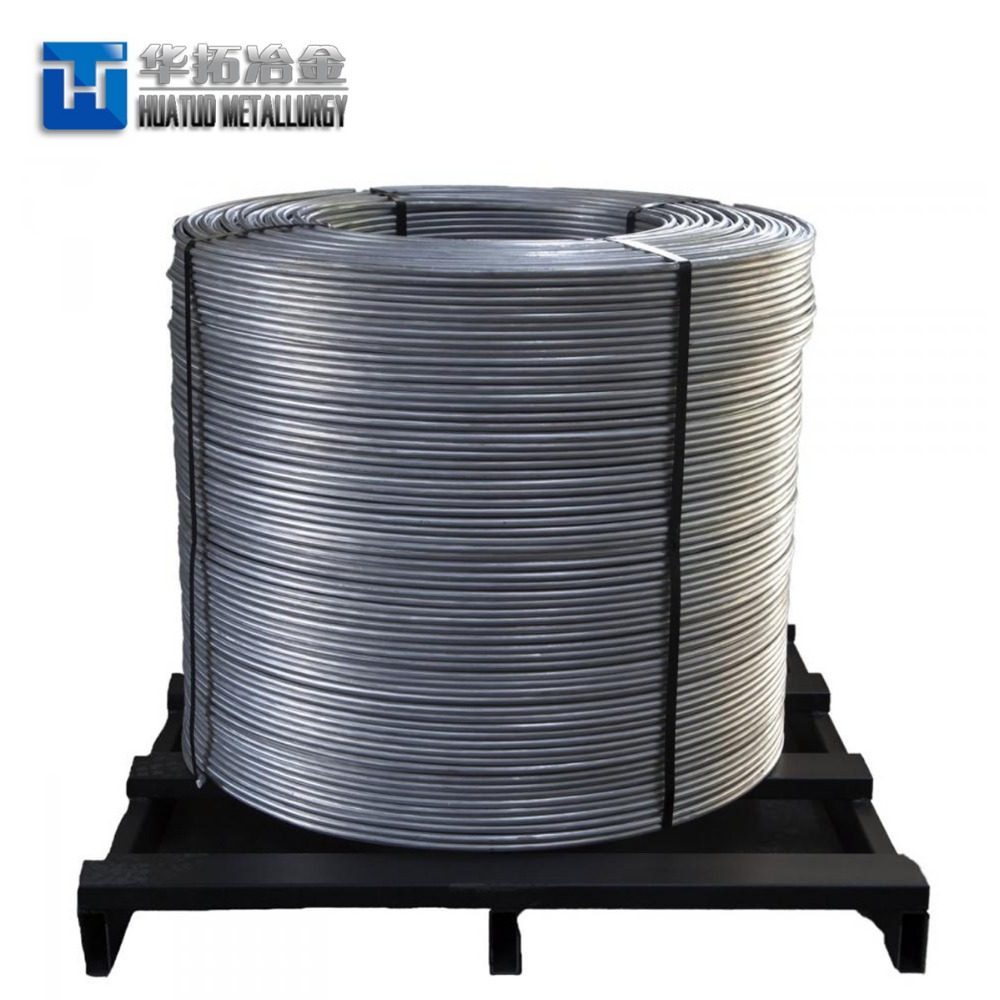 Ferro alloy/Calcium silicon/Fe Si Ca cored wire manufacturers