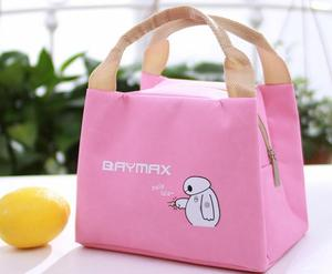 KID promotion cute cooler aluminum foil insulated wholesale kids lunch bag