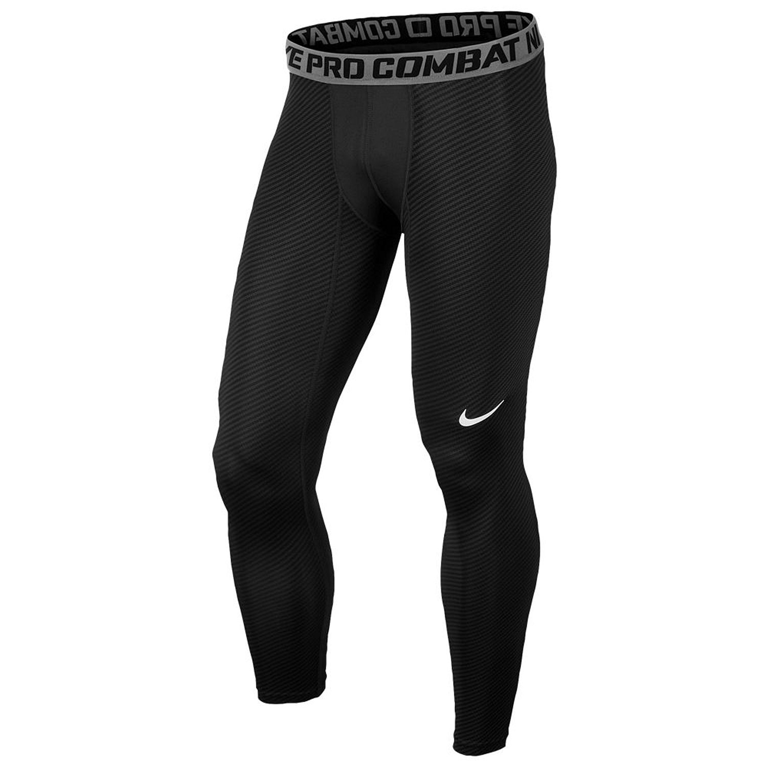 07d60862e Get Quotations · Nike Mens Dri Fit Pro Combat Carbon Fiber Compression  Tights Small