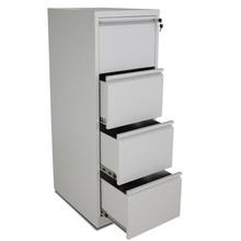 Industrial used metal furniture assembly 4 drawer white file cabinet