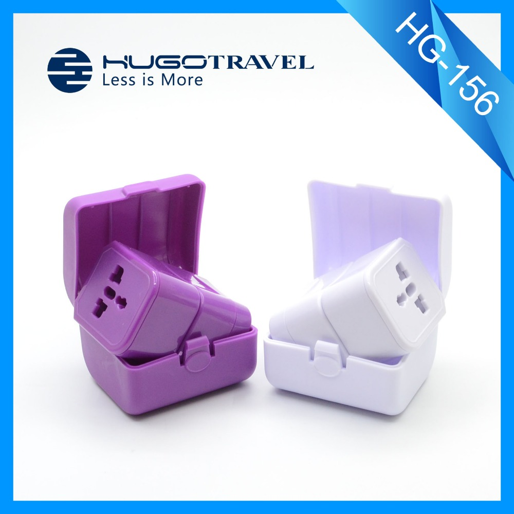Promotional Universal Travel Adapter Plug with world travel adaptor plug