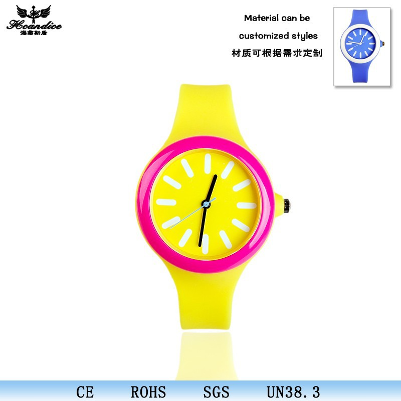 Popular promotional items All Colors Cute Silicone watches