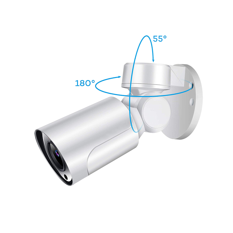 Mobile View 5MP Starlight Camera POE Onvif Audio Optional Network P2P Support