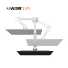 Computer monitor stand adjustable LCD desk stand rotating lcd monitor stand (BEWISER D2S)