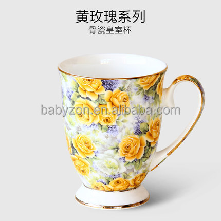 Royal Yellow Rose Travel Mug Coffee Mugs And Ceramic Mugs