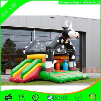 Custom Milka Cow Inflatable Bouncer Slide Combo For Sale ...