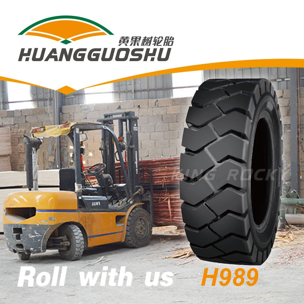 Asia huangguoshu 28x9-15 12 ply forklift truck tires