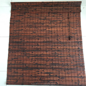 printed tiger strand bamboo blind/curtain/widow blinds