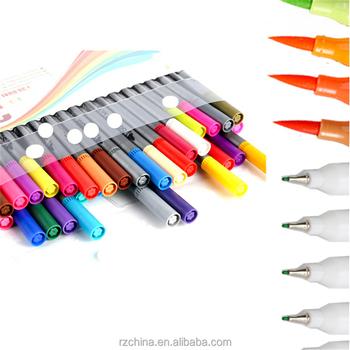 Fineliner Coloring Pens Set,Ultra Fine Felt Tips Colored Pen,0.4mm ...
