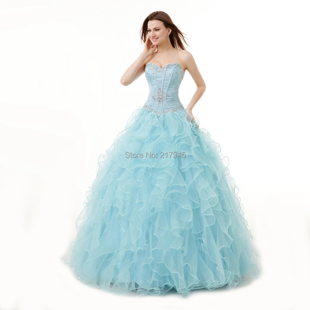 Most Beautiful Ball Gown Wedding Dresses: Free-shipping-Most-Beautiful-Ball-Gown-Prom-Dresses-2014