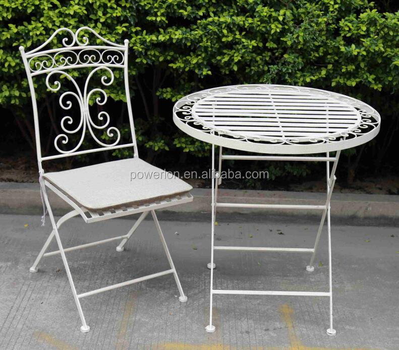Unique new design of nice meta craftl patio furniture for home and garden