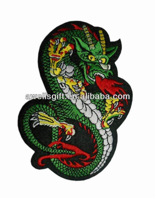 dragon embroidered patches dragon embroidery patch