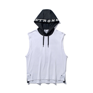 Custom Gym Workout Hooded Singlet Wholesale Bodybuilding Singlet