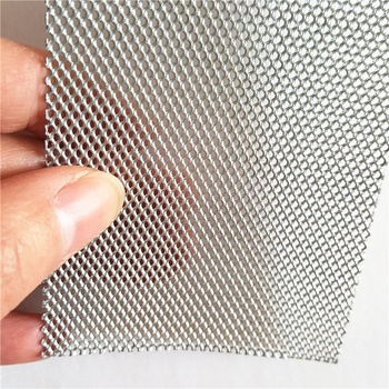 Anping Factory Aluminum Expanded Metal With Tiny HoleISO9001 Certificate