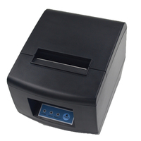 Auto Cutter 80mm Thermal Receipt Printer USB / Ethernet Interface POS Printer with CE FCC ROHS