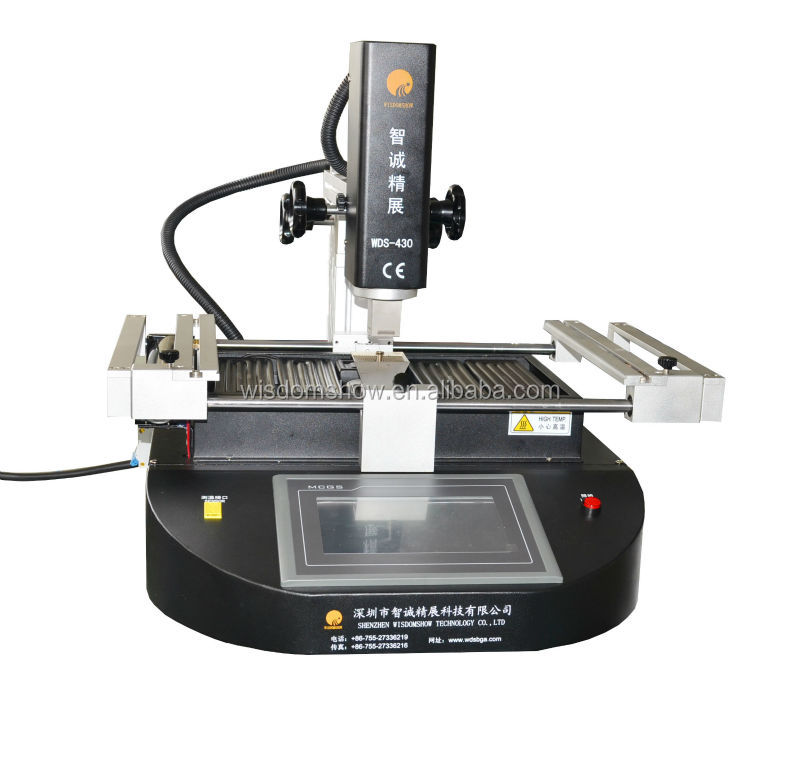 Factory Price!! BGA Electronic parts repair WDS-430 ir bga rework station,hot air welding equipment