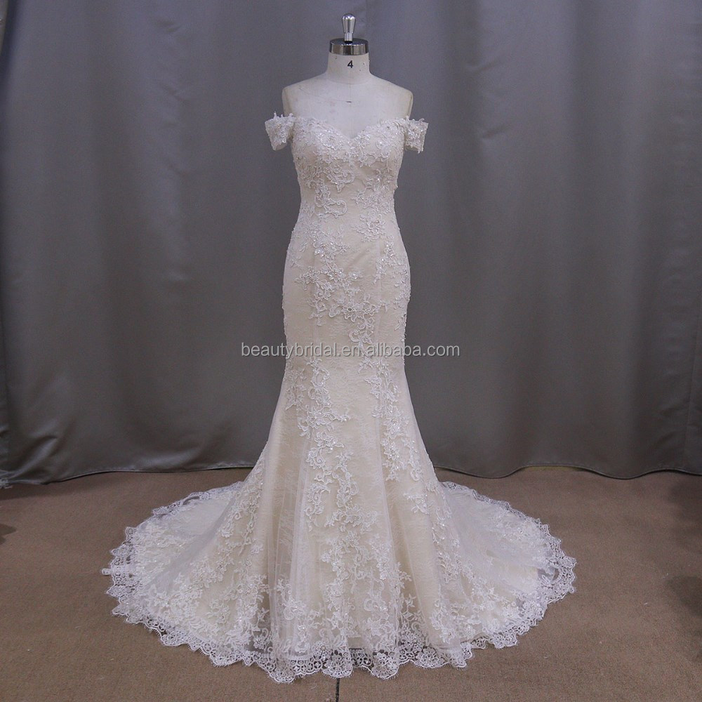 Wedding Champagne Colored Dresses champagne colored mermaid wedding dresses suppliers and manufacturers at alibaba com