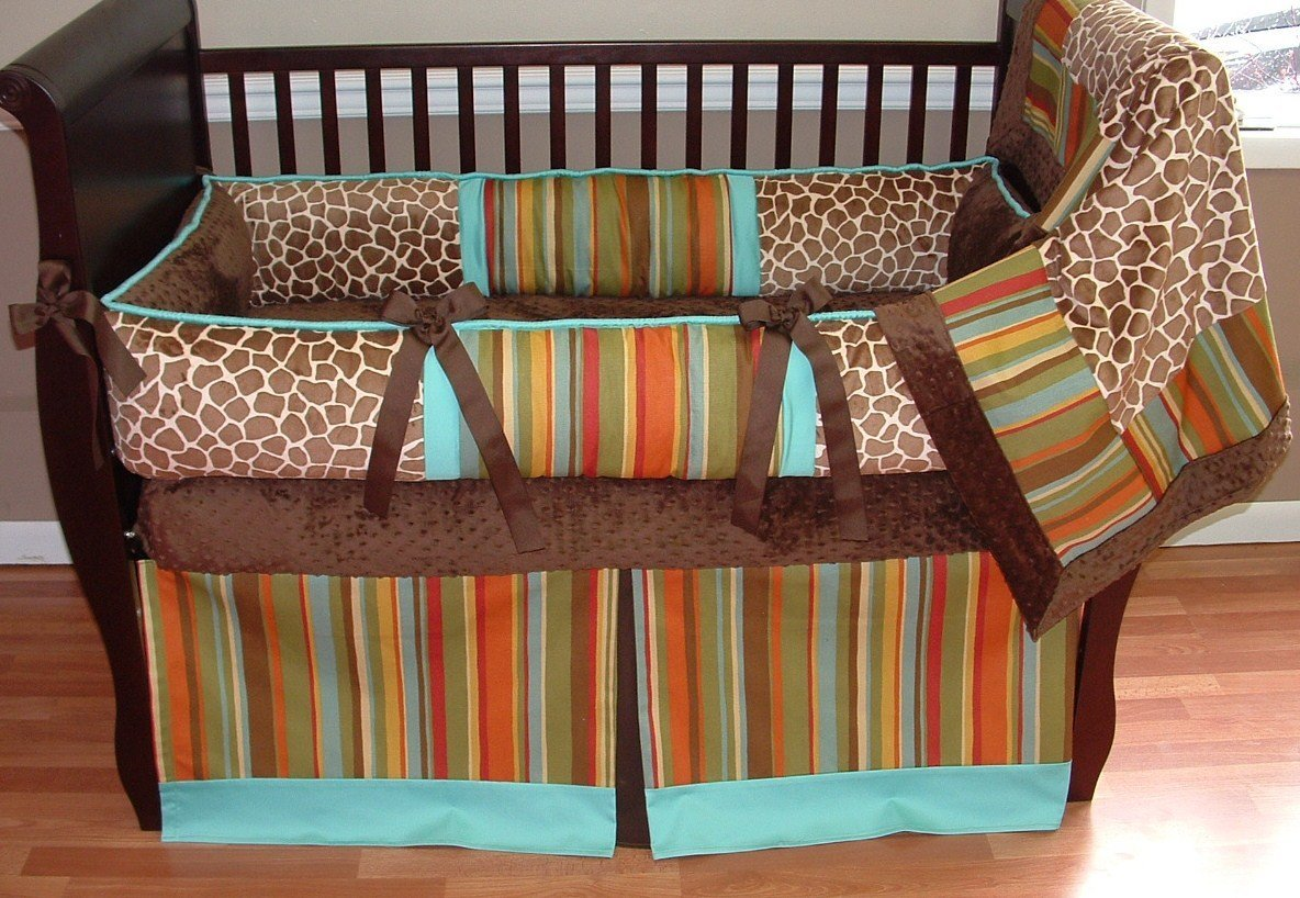 Modpeapod Madagascar Breathable Baby Bedding Set