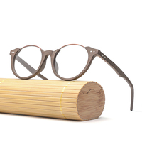 Fashion Vintage Glasses Frame Men Women Wood Eye Glass Prescription Eyeglasses Optical Frames Eyewear