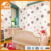 PVC and Non-woven Moisture-proof anti-static sound insulation effect good 3d wallpaper for kid bedroom