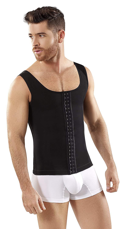 a335fca190b Get Quotations · Fajas Colombianas para Hombres Mens Girdle High  Compression Garmen Shapewear Bodysuit Shaper for Men