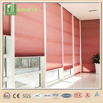 Honeycomb blinds windows with built in blinds double for Windows with built in shades