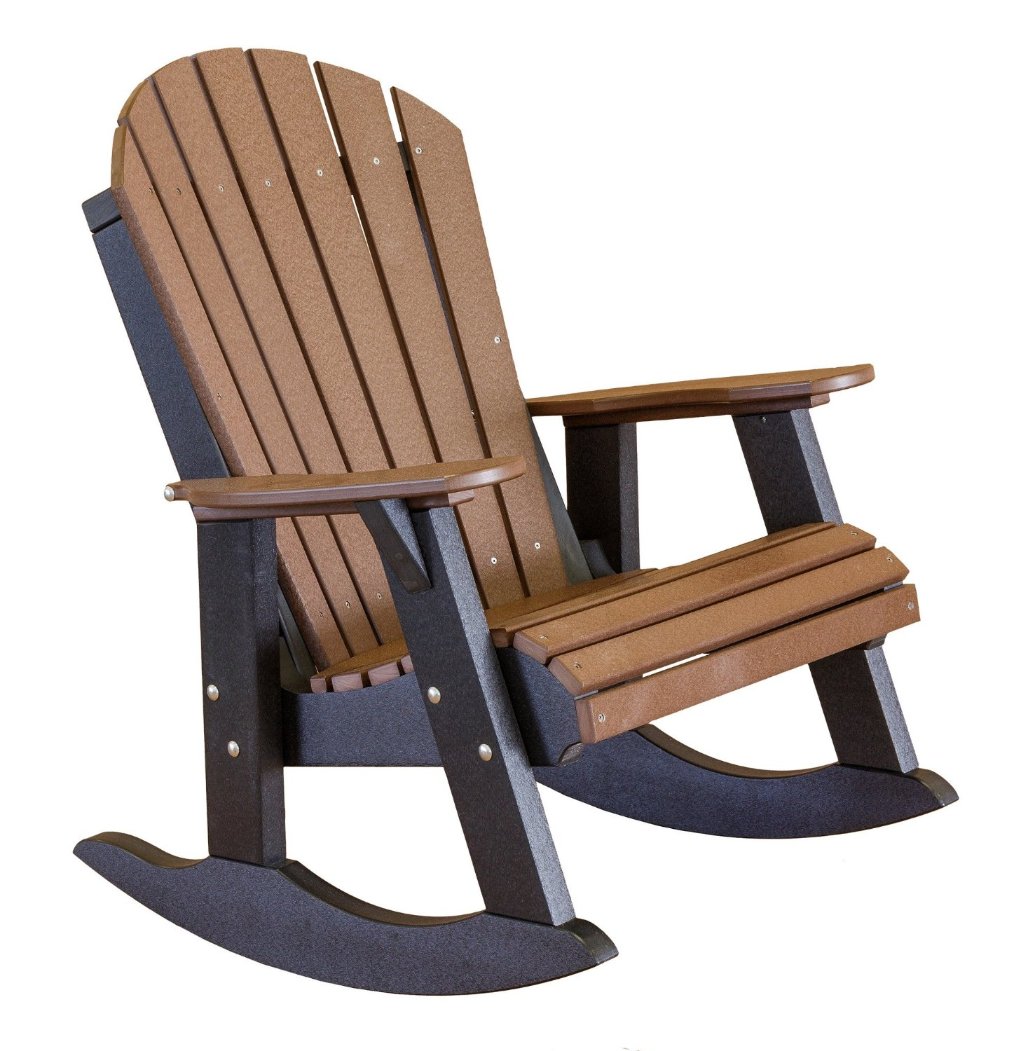 Wildridge Recycled Plastic Heritage Fan Back Rocking Chair